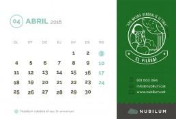 Calendari 2016. Ramon Llull filòsof