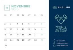 Calendari de novembre de 2015