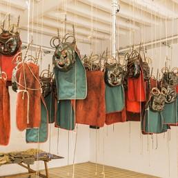 Mascares utilitzades a La Patum